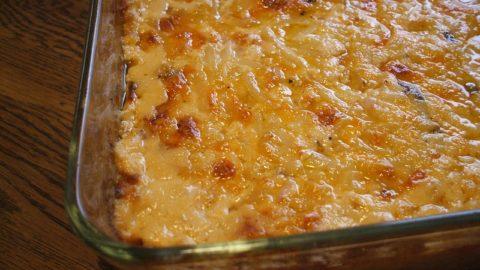 Рецепт картофельной запеканки с курицей, грибами и сыром