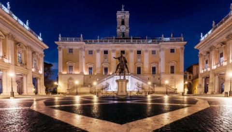 Романтическая прогулка по Риму