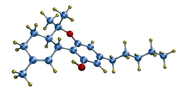 Молекула ТГК