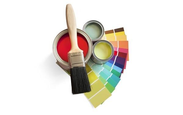 Краски и кисть