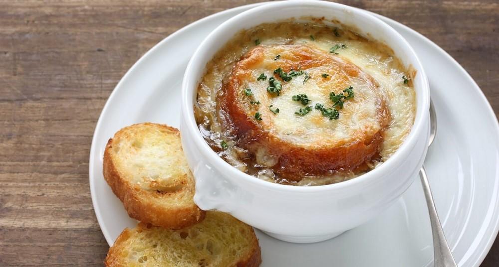Луковый суп, фото