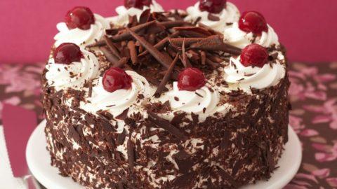 Рецепт вкусного шоколадного торта «Черный лес»