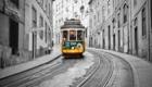 Старинный трамвай №28, фото