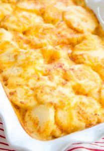 Картофель с сыр в духовке рецепт с фото