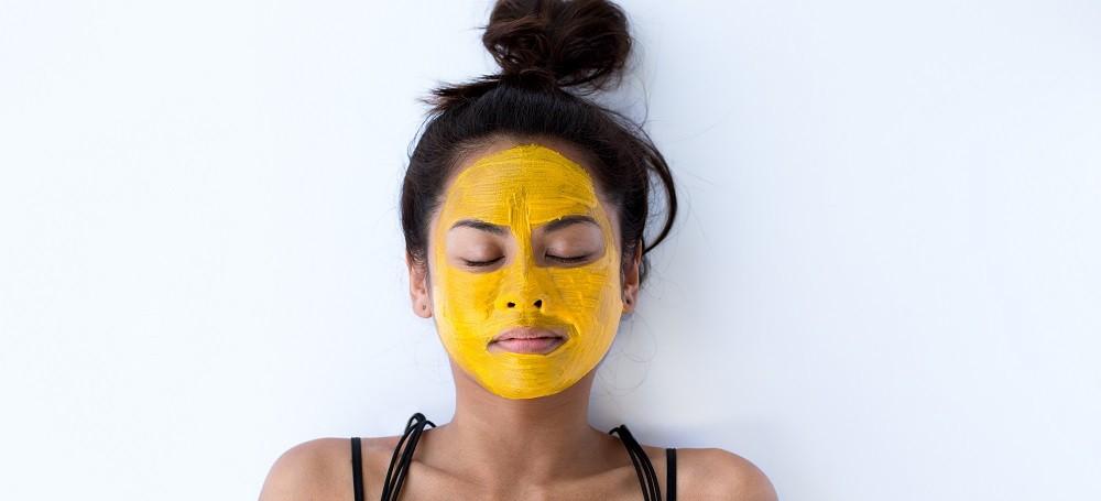 маска для лица из куркумы и кокосового масла