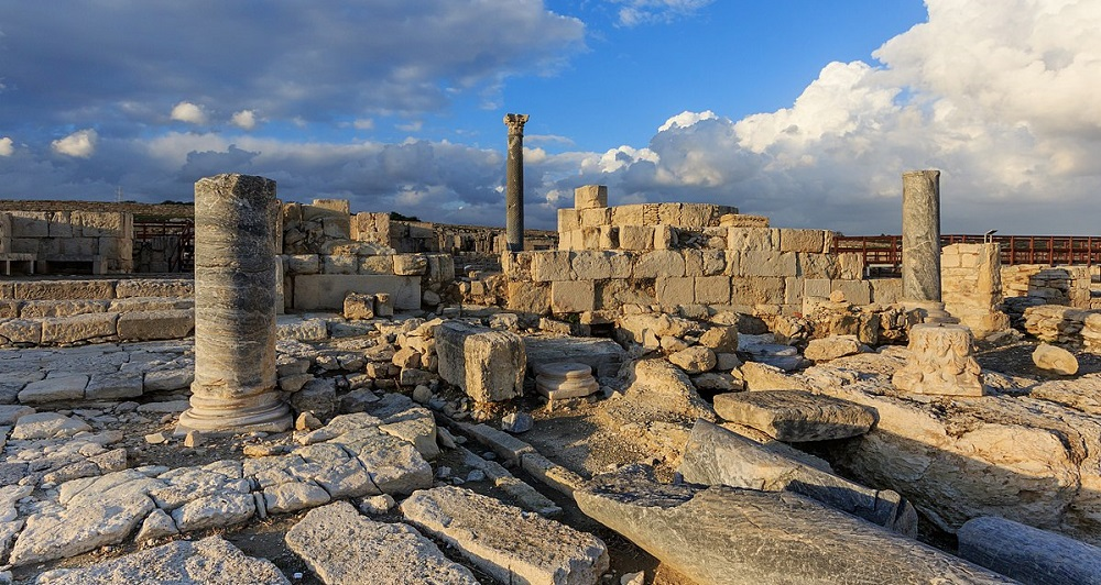 Руины города Куриона