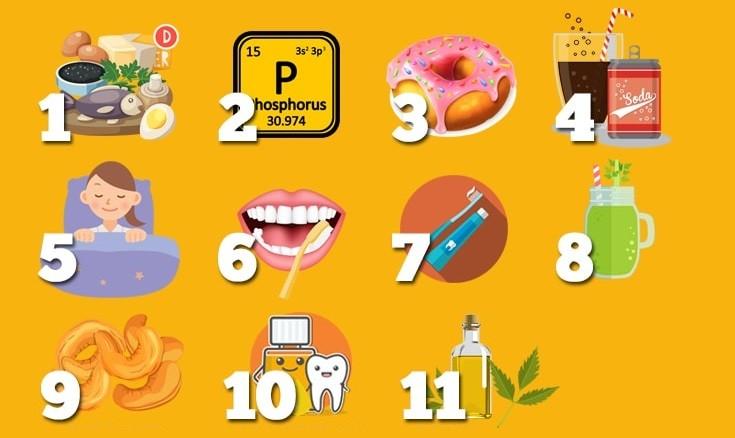 11 привычек, которые остановят кариес