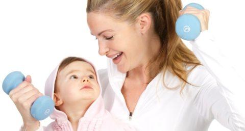 Похудение после родов в домашних условиях: 7 правил