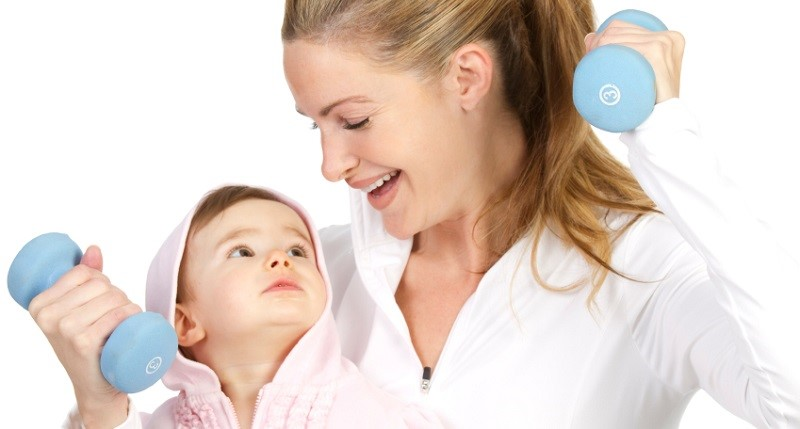 Похудение после родов в домашних условиях