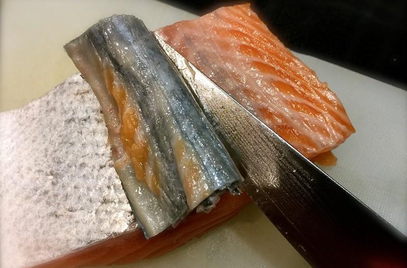 Кожа лосося