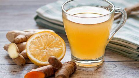 Напиток с куркумой и имбирем для повышения иммунитета