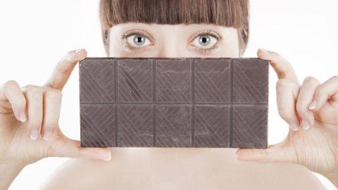Черный шоколад улучшает зрение