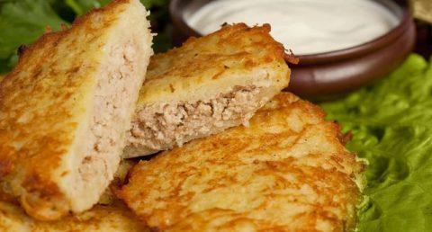 Колдуны с мясом: рецепт приготовления
