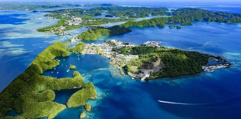 Остров Палау (Тихий океан)