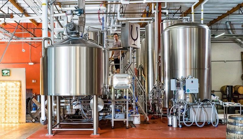 Производство темного пива