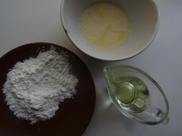 Ингредиенты для сборки пирога
