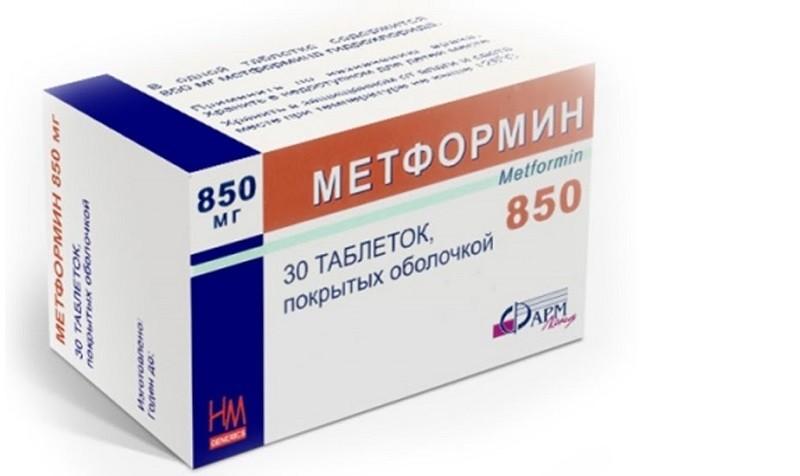 Метфомин таблетки