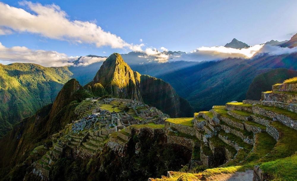 Красивое фото Мачу-Пикчу