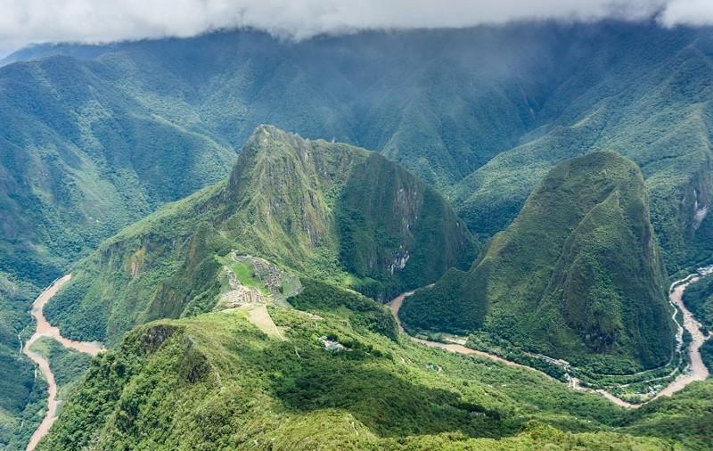 Мачу-Пикчу, фото с высоты