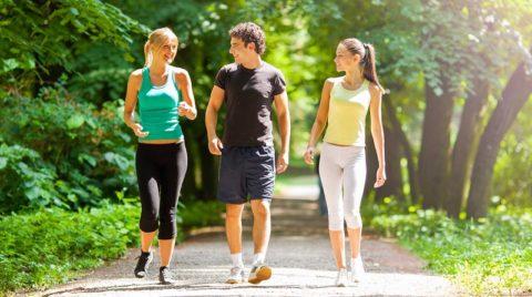 Ходьба по 150 минут в неделю значительно снижает риск депрессии
