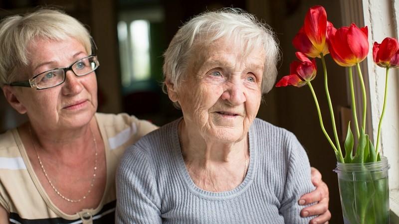 Фото больной болезнью Альцгеймера