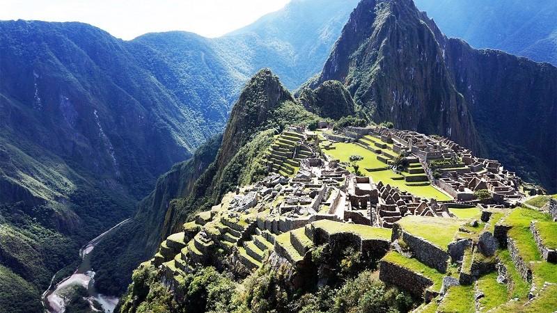 Древний город Мачу-Пикчу