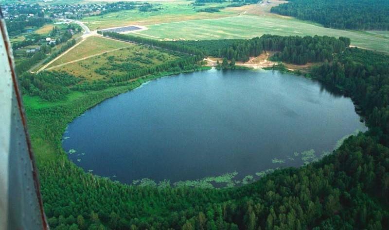 Озеро Светлояр - аэросъемка