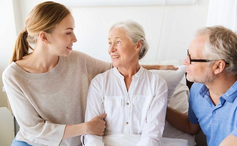 Болезнь Альцгеймера - фото больной
