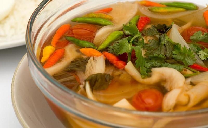 Вегетарианский рецепт Том Ям