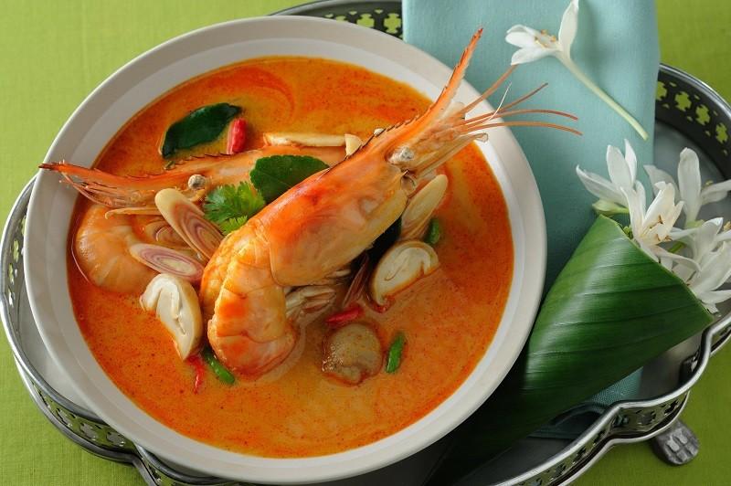 Классический тайский рецепт супа Том Ям