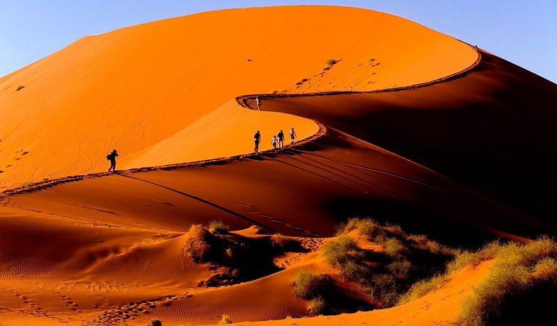 Песчанные дюны Соссусвлей