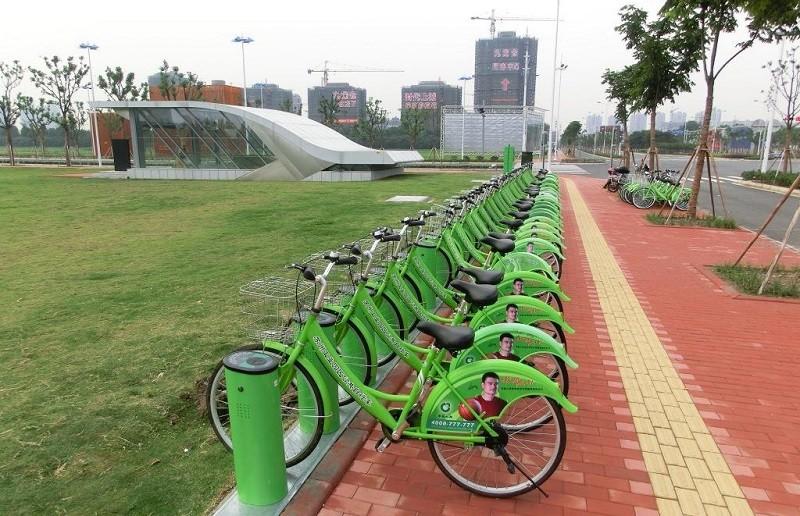 Велосипеды в Сучжоу
