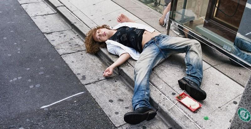 Тяжелая степень алкогольного опьянения