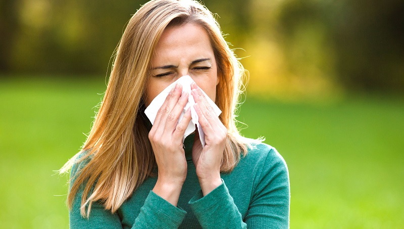 Гистамин выделяется при аллергических реакциях