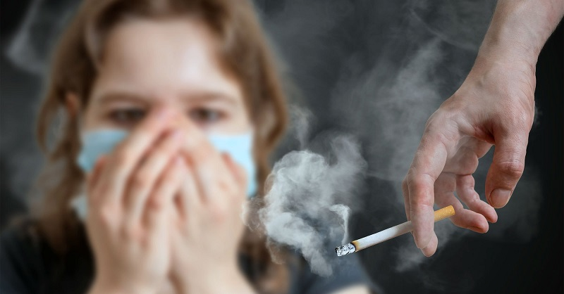 Как избавиться от запаха сигарет в помещении?