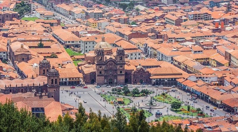 Фото города Куско