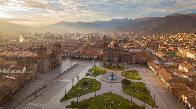 Город Куско в Перу, фото