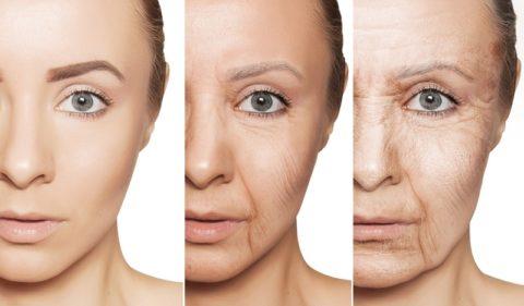 Употребление алкоголя и курение заметно усиливает старение