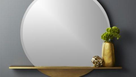 Круглое зеркало для дома