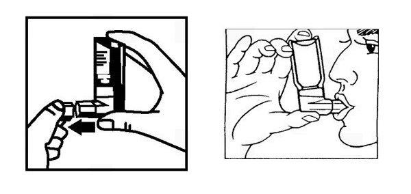 Как использовать аэрозоль для ингаляций