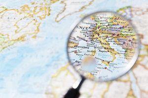 Географический тест - исключите, что нужно