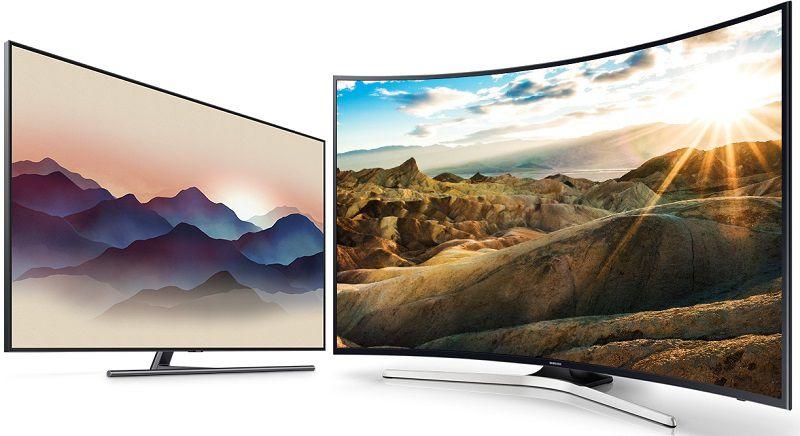 Плоский или изогнутый экран выбрать