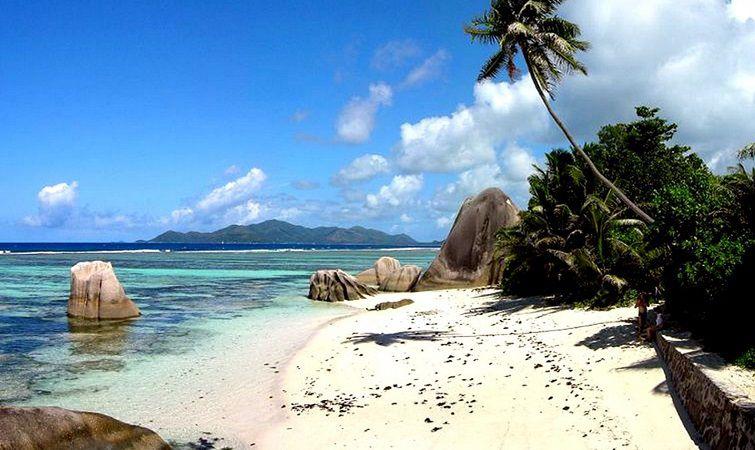 Малайзия, пляж Голубая лагуна