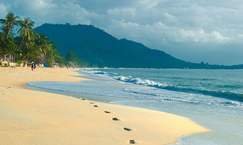 Остров Самуи, пляж Чавенг