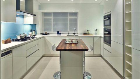 Как организовать кухню с островом