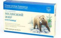 Лечение медвежьим жиром