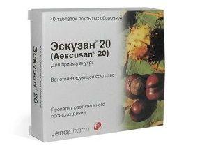 Таблетки Эскузан
