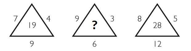 Какую цифру нужно вставить на место вопросительного знака
