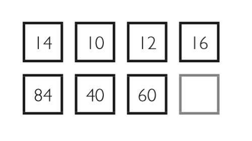 Какую цифру нужно вставить в пустой квадрат