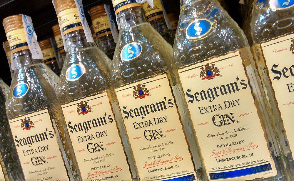 Джин Seagram's